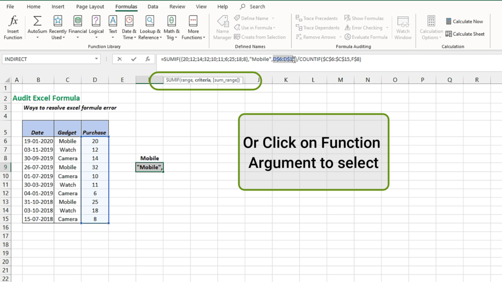 Select the function here and click F9 and the number of the return value of this particular part of the formula.